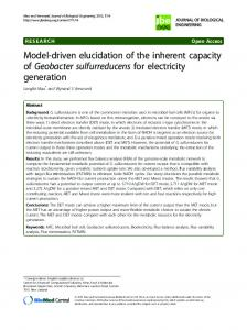 Model-driven elucidation of the inherent capacity of ... - BioMedSearch