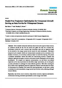 Model-Free Trajectory Optimisation for Unmanned Aircraft ... - MDPI