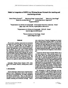 Model to integration of RFID into Wireless Sensor ... - IEEE Xplore