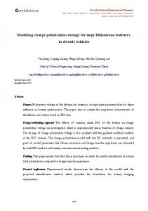Modeling charge polarization voltage for large ... - Semantic Scholarhttps://www.researchgate.net/...polarization.../Modeling-charge-polarization-voltage-f...