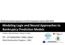 Modeling Logic and Neural Approaches to Bankruptcy Prediction