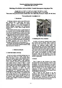 Modeling of the Sulfuric Acid and Sulfur Trioxide ...