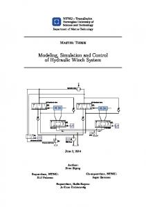 Modeling, Simulation and control of Directional Valve