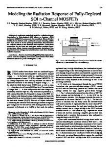 Modeling the Radiation Response of Fully-Depleted SOI ... - IEEE Xplore