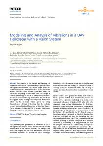 Modelling and Analysis of Vibrations in a UAV ... - InTechOpen