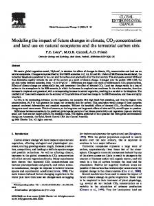 Modelling the impact of future changes in climate, CO2 ... - CiteSeerX