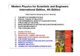 Modern Physics for Scientists and Engineers International Edition ...