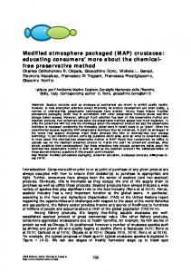 Modified atmosphere packaged - Bioflux