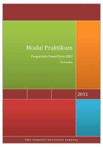 Modul Praktikum - WordPress.com