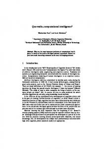 Modular Neural Networks for Modeling of a Nonlinear ...