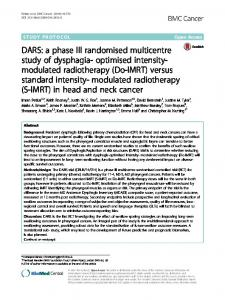 modulated radiotherapy - Core