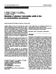 Modulation of midazolam 1-hydroxylation activity in ... - Springer Link