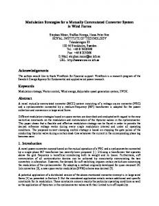 Modulation Strategies for a Mutually Commutated ... - Semantic Scholar