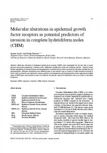 Molecular alterations in epidermal growth factor ... - downloads