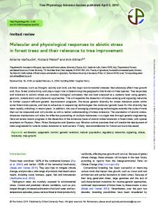 Molecular and physiological responses to abiotic ...