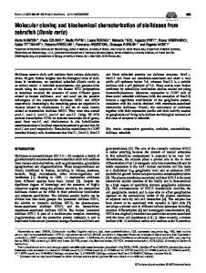 Molecular cloning and biochemical characterization of sialidases from ...