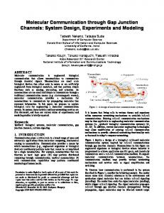 Molecular Communication through Gap Junction Channels: System ...