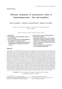 Molecular mechanisms of neuroprotective action - Wiley Online Library