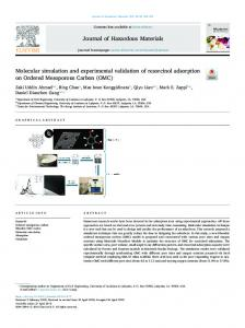 Molecular simulation and experimental validation of ...