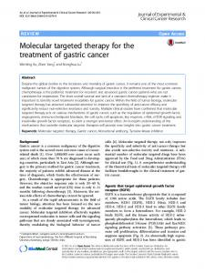 Molecular targeted therapy for the treatment of ... - Semantic Scholar