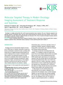 Molecular Targeted Therapy in Modern Oncology