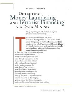 Money Laundering AND Terrorist Financing - Semantic Scholar