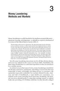 Money Laundering: Methods and Markets