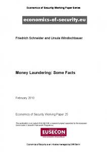 Money Laundering: Some Facts - Core
