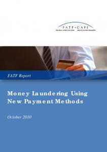 Money Laundering Using New Payment Methods pdf, 2037kb - FATF