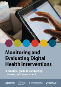 Monitoring and Evaluating Digital Health Interventions