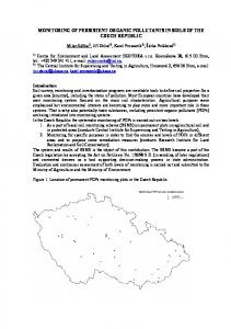 Monitoring of persistent organic pollutants in soils of the ... - Recetox