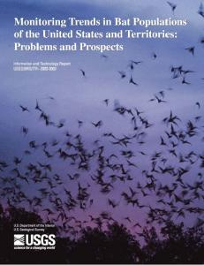 Monitoring Trends in Bat Populations