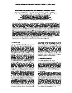 MONOLITHIC SERIES INTERCONNECTION OF FLEXIBLE THIN-FILM ...