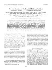 Monophasic Variant - Journal of Clinical Microbiology - American ...