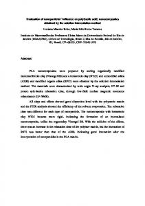 montmorillonite nanocomposites obtained from