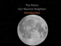 Moon PowerPoint (pdf)