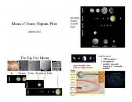 Moons of Uranus, Neptune, Pluto . The Top Five Moons