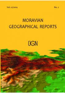 moravian geographical reports