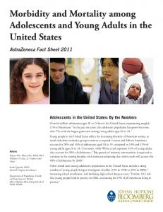 Morbidity and Mortality among Adolescents and Young Adults in the ...