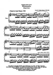 Mormorio - Sheet Music Archive