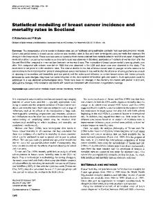 mortality rates in Scotland - BioMedSearch
