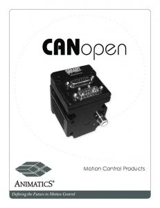 Motion Control Products - Animatics Corporation