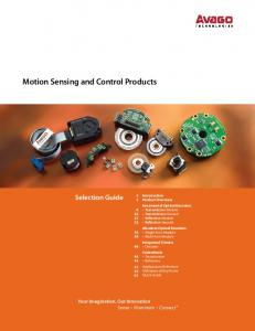Motion Sensing and Control Products - Mouser Electronics