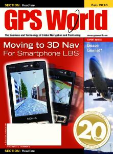 Moving to 3D Nav