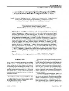 MPTP-induced parkinsonism in mouse - Semantic Scholar