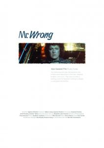 Mr Wrong 2.indd - New Zealand Film Commission