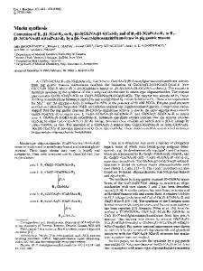 Mucin synthesis - Wiley Online Library
