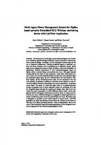 Multi-Agent Power Management System for ... - Semantic Scholar