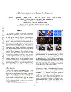 Multi-Context Attention for Human Pose Estimation