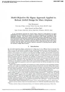 Multi-Objective Six Sigma Approach Applied to ... - Semantic Scholar